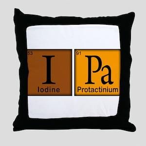 IPA Compound Throw Pillow