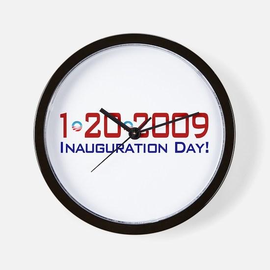 1-20-2009 Obama Inauguration Day Wall Clock