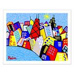 Oak Street View Chicago 16x20