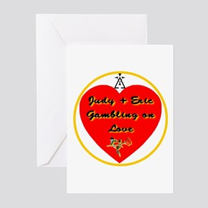 Gambling on Love Greeting Cards (Pk of 10)
