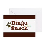 Dingo Snack Greeting Cards (Pk of 20)