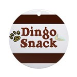 Dingo Snack Ornament (Round)