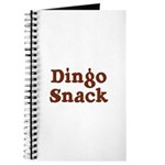 Dingo Snack Journal