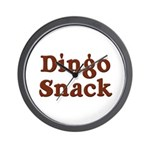 Dingo Snack Wall Clock