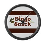 Dingo Snack Large Wall Clock