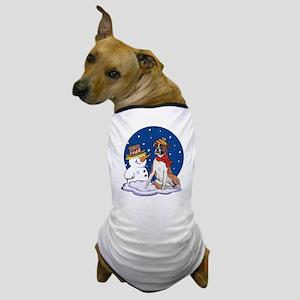 Boxer Dog and Snowman Dog T-Shirt