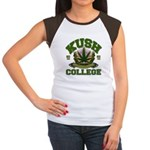 KUSH COLLEGE-2 Women's Cap Sleeve T-Shirt