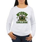 KUSH COLLEGE-2 Women's Long Sleeve T-Shirt