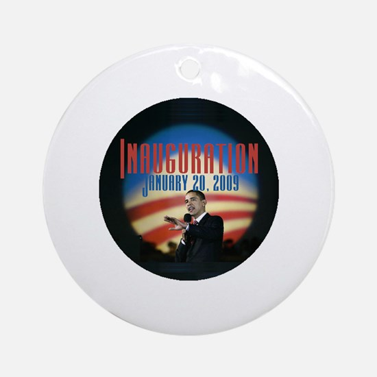 Inaugural Logo Ornament (Round)