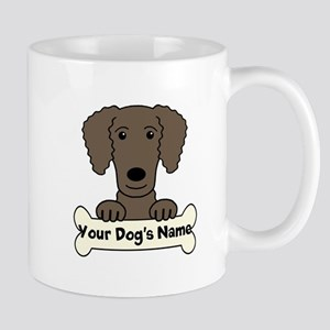 Personalized Curly-Coated Retriever Mug