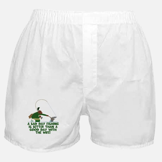Funny Fly Fishing Boxer Shorts