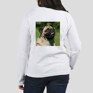 Pug Women's Long Sleeve T-Shirt