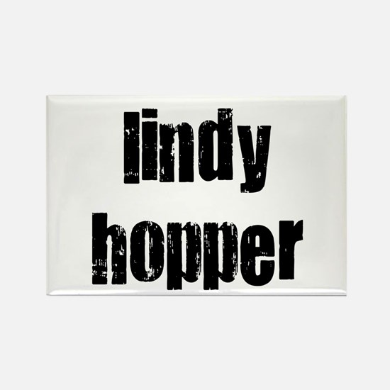 Lindy Hopper Rectangle Magnet