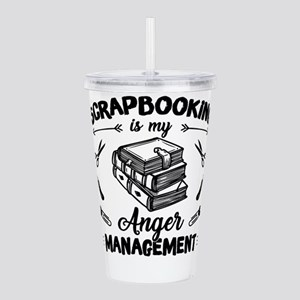 Scrapbook Acrylic Double-wall Tumbler