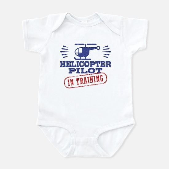 Helicopter Pilot In Training Infant Bodysuit