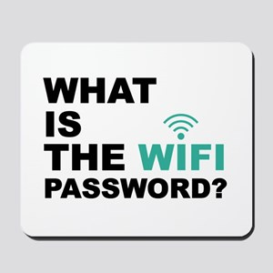 What is the Wi-Fi password Mousepad