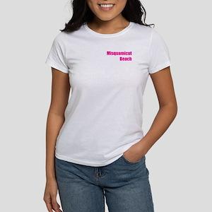 Misquamicut Beach starfish Women's T-Shirt