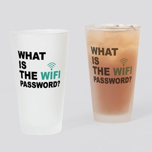 What is the Wi-Fi password Drinking Glass