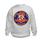 USS HARWOOD Kids Sweatshirt