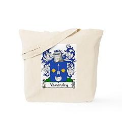 Yavorsky Family Crest Tote Bag