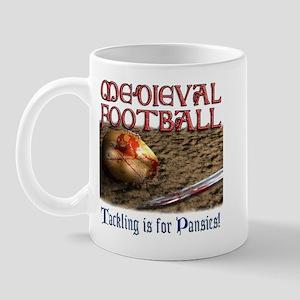 Medieval Football Mug