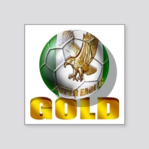 Nigerian Football Gold Sticker
