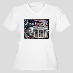 President Barack Obama Women's Plus Size V-Neck T-