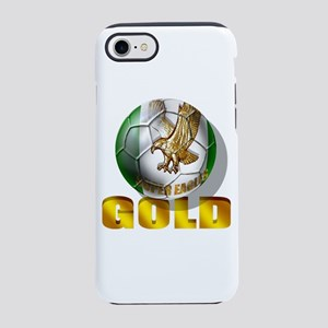 Nigerian Football Gold iPhone 8/7 Tough Case