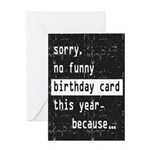 Funny Birthday Card Greeting Cards