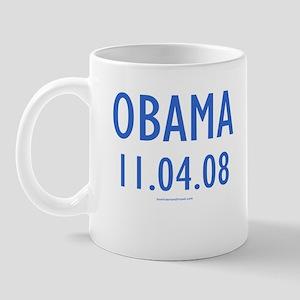 Obama 11.04.08 - Mug