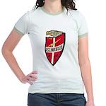 USS HAVERFIELD Jr. Ringer T-Shirt
