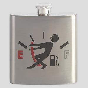 Gas Gauge Guy Flask