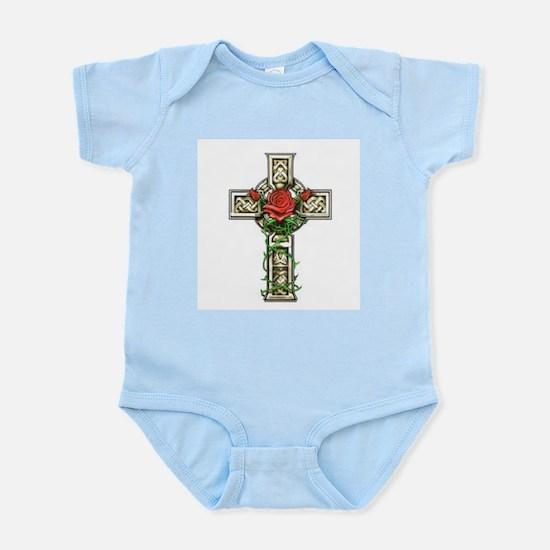 Celtic Rose Cross Infant Creeper