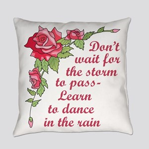 Dance in the Rain Everyday Pillow