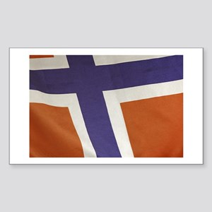 Proud to be Norwegian! Rectangle Sticker