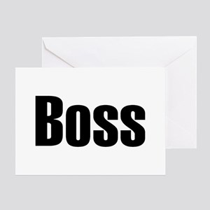 Funny boss greeting cards cafepress boss greeting card m4hsunfo
