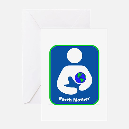 IBFS Earth Mother #1 Greeting Card