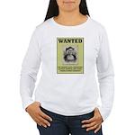 Columbus Wanted Poster Women's Long Sleeve T-Shirt