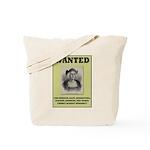 Columbus Wanted Poster Tote Bag