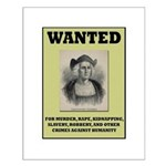Columbus Wanted Poster Small Poster