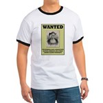 Columbus Wanted Poster Ringer T