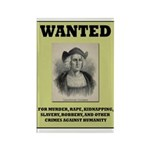 Columbus Wanted Poster Rectangle Magnet (10 pack)