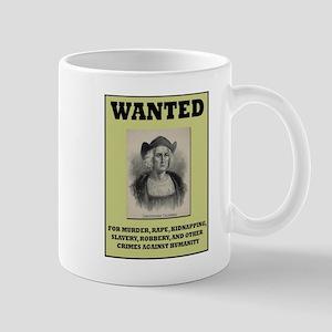Columbus Wanted Poster Mug
