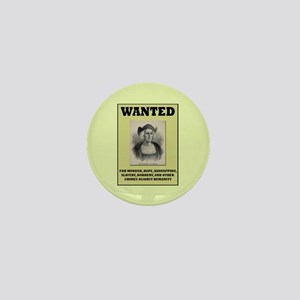 Columbus Wanted Poster Mini Button