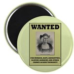 Columbus Wanted Poster Magnet