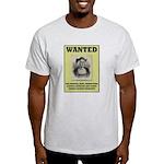 Columbus Wanted Poster Light T-Shirt