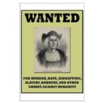 Columbus Wanted Poster Large Poster