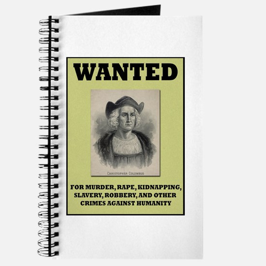 Columbus Wanted Poster Journal
