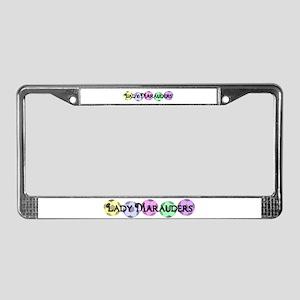 Lady Marauders Multi License Plate Frame