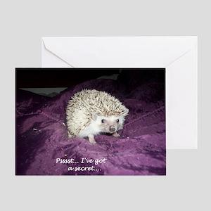 Psst...I've got a secret Greeting Card